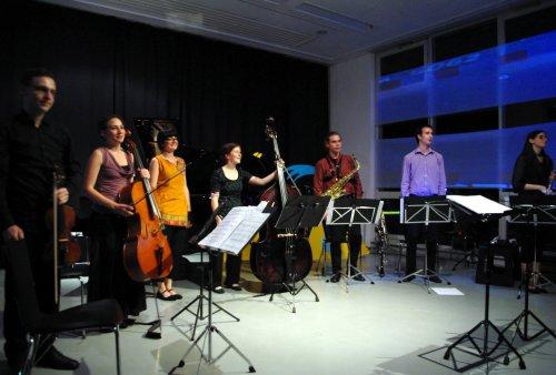 Ensemble Schallfeld(C) Foto:Peter Venus