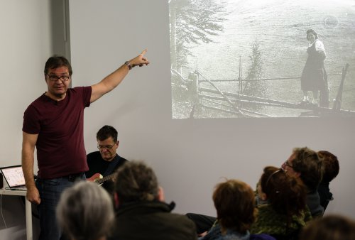 Rupert Lehofer - Performance @Aksioma 2013
