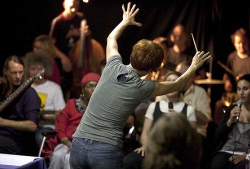 STYRIAN IMPROVISERS ORCHESTRA (Elisabeth Harnik, 2012)