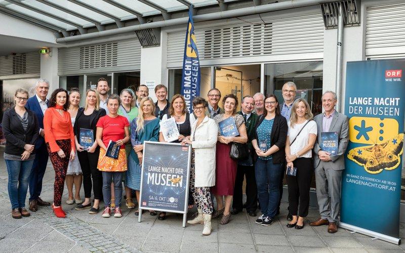 VertreterInnen der beteiligten Institutionen_© ORF/Regine Schöttl