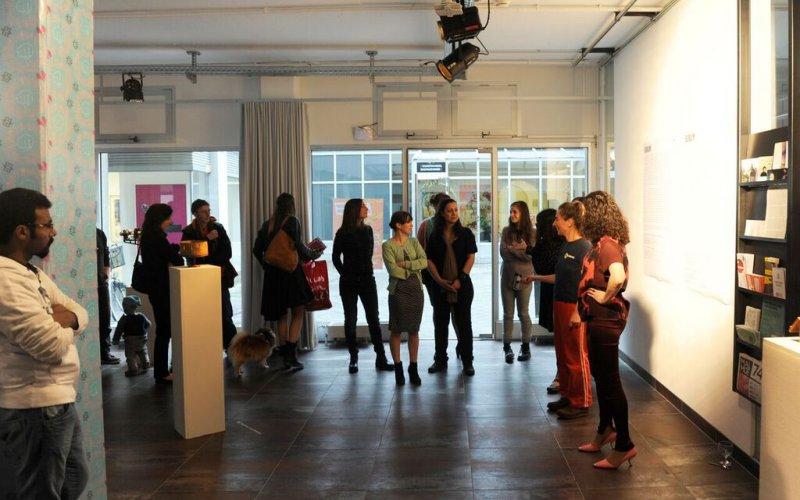 Eröffnung, Foto: Hanns Holger Rutz, © esc medien kunst labor