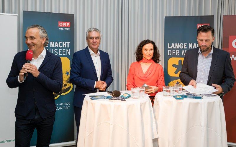 Gernot Rath, Gerhard Draxler,  Ilse Weber, Richard Siwy_© ORF/Regine Schöttl