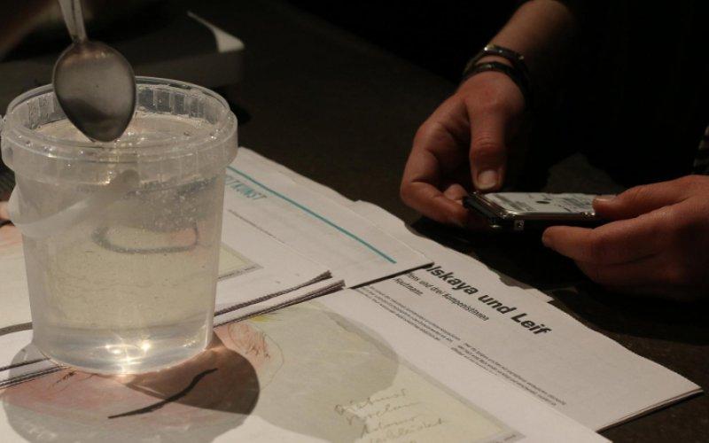 Artist's Meeting und Workshop, Videokonferenz London - Linz - Graz, Foto: Lisa Horvath, © esc medien kunst labor