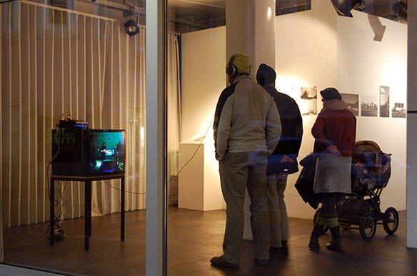 06 Videoinstallation Pardon von ekw14,90, © esc medien kunst labor