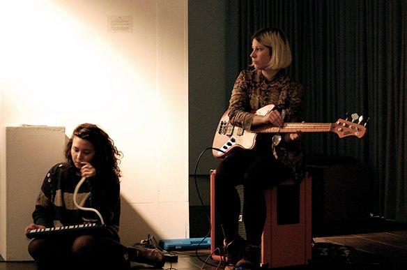 13 18.12.2015 Konzert: Susanne Schwarz, Benjamin Klug und das Lärm Orchester, © esc medien kunst labor