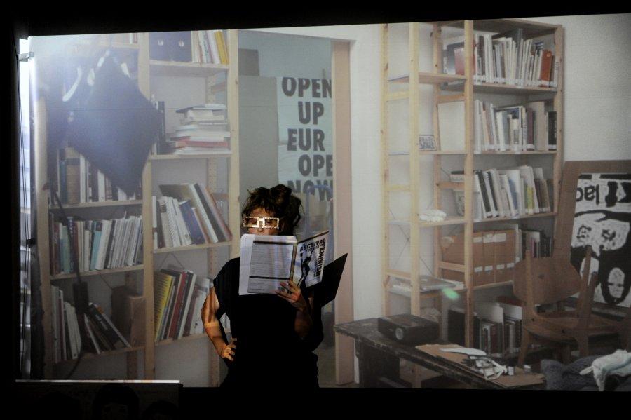 SUBLIM Finissage, Revealing the Archive, Foto: Maryam Mohammadi, © esc medien kunst labor