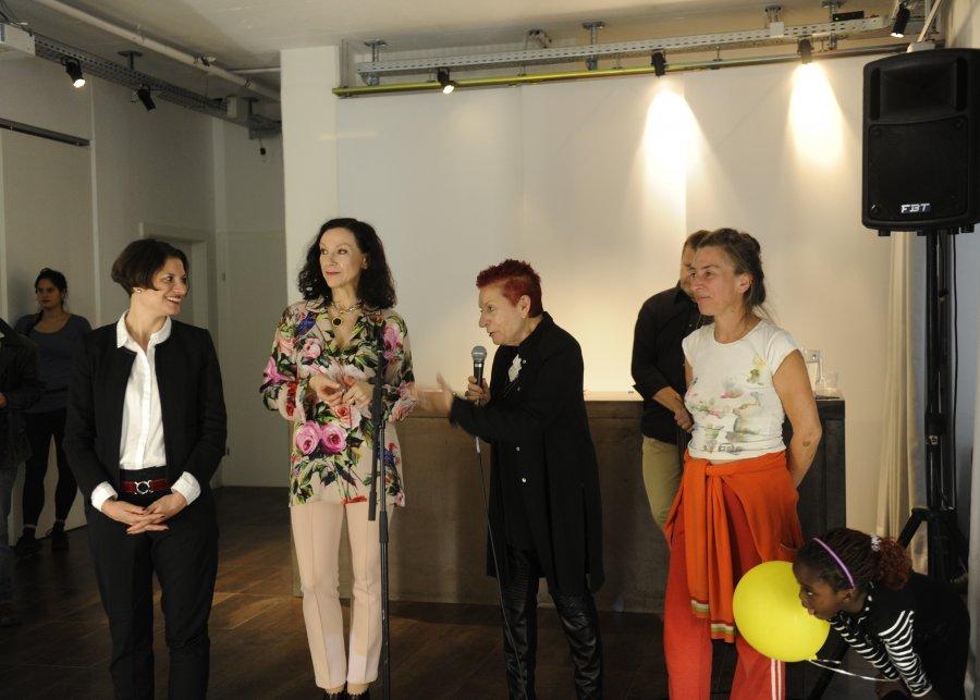 © esc mkl, Foto: Maryam Mohammadi (Agnes Wiesbauer-Lenz, Ilse Weber, Concha Jerez, Reni Hofmüller)