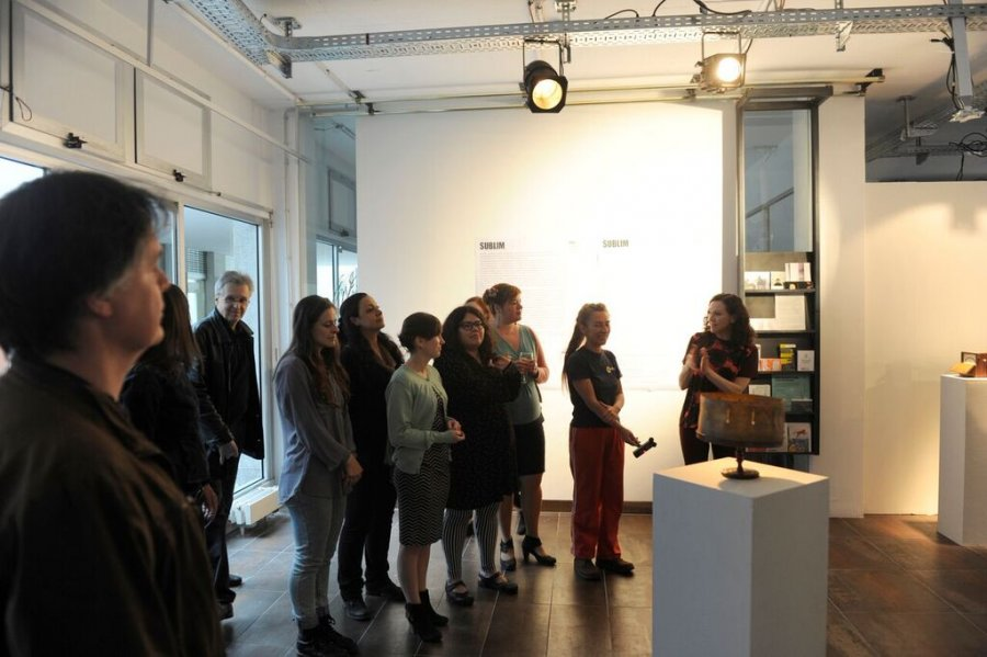 Opening, Foto: Hanns Holger Rutz, © esc medien kunst labor