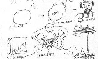 """""""Detonation"""" – Ausschnitt aus einer Illustration von Nikolaus Feinig in tortuga #2"""