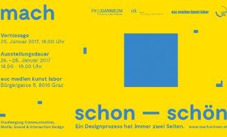 mach schon - mach schön © FH Joanneum Institut für Kommunikation und Design