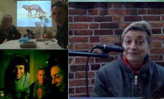 Artist's Meeting Videokonferenz London-Linz-Graz