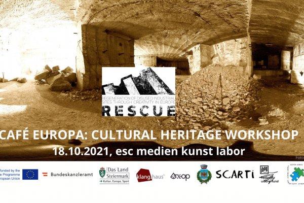 ©esc medien kunst labor_Café Europa Cultural Heritage Workshop_FB Titelbild