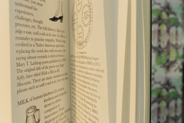 """Dictionary of Unexpected Generosities"", © Maryam Mohammadi"